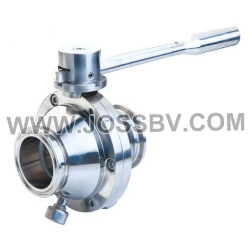Sanitary Butterfly Ball Valve New type