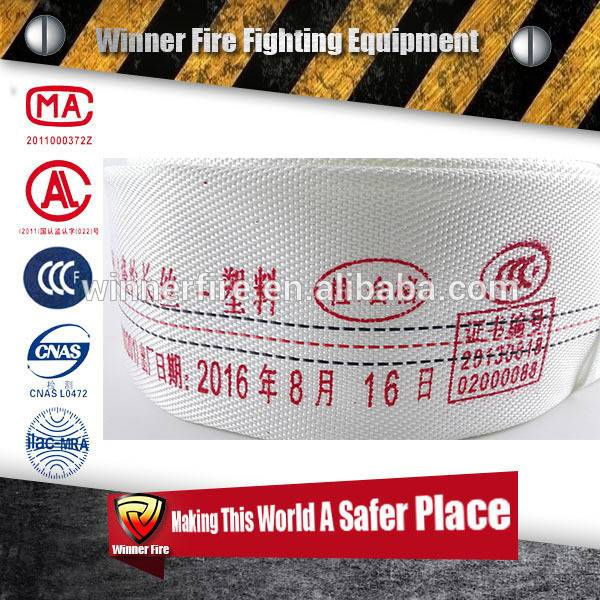 Patterned hot sales twill fire hose water with high quality