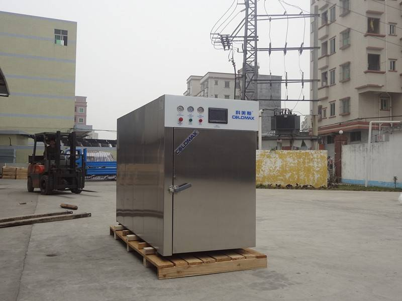 vacuum cooling system for foods processin industry