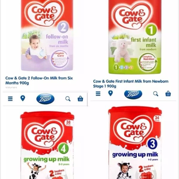 COW & GATE INFANT MILK