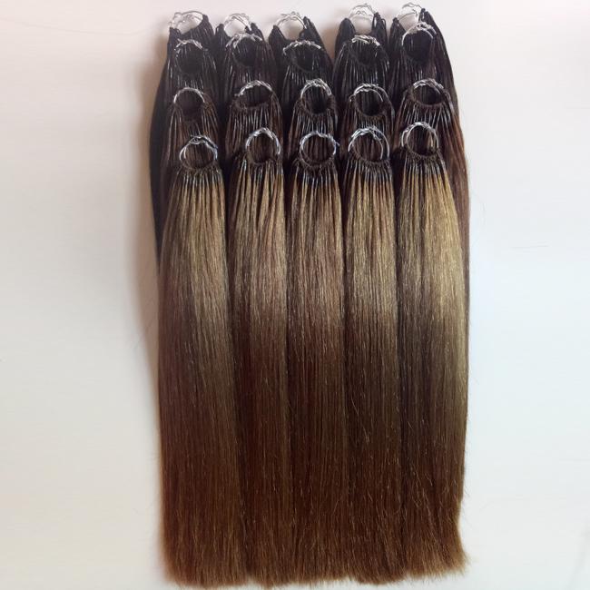 Cotton Thread Hair Indian hair Tip hair extensions Manufacturers wholesale