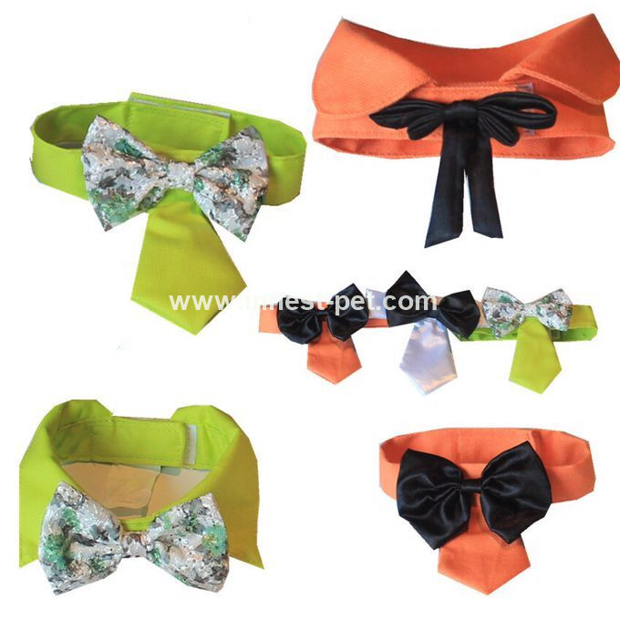 totally handmade high quality dog ties, pet bow tie