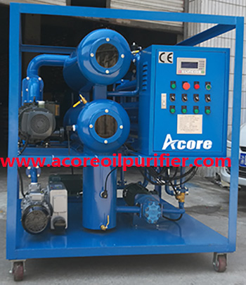 10-300L/min Vacuum Transformer Oil Purifier Machine