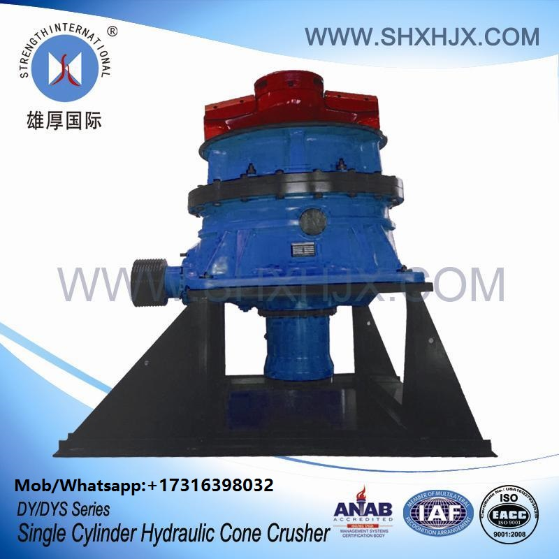 DY Series Single Cylinder Hydraulic Cone Crusher For Construction Industries