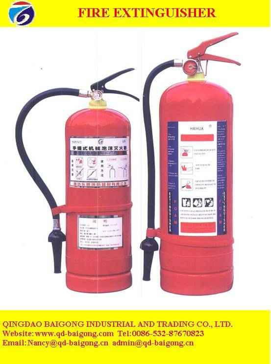 made in china fire extinguisher