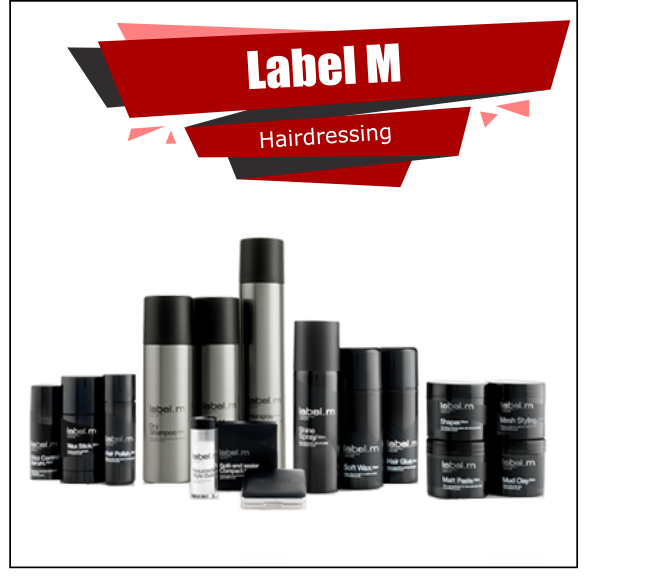 Label M Hair Care Cosmetics Full Offer