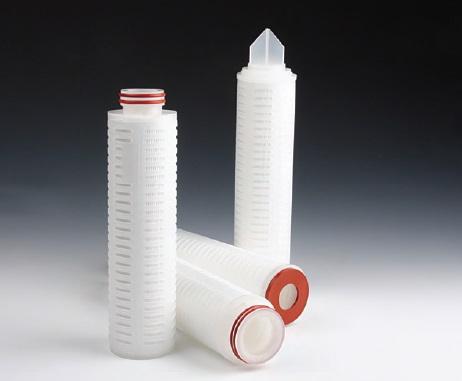 PORLAS (Fiber glass pleated filter)