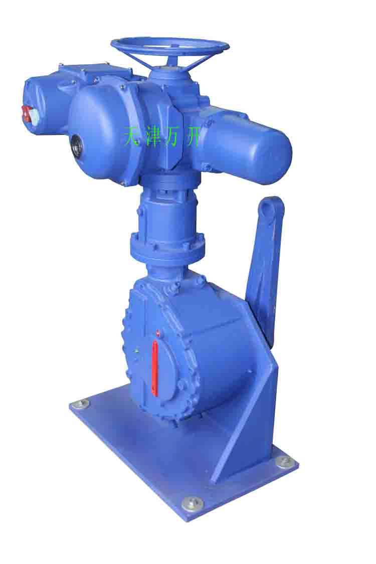 Bernard actuator for electric control valve ST+RS