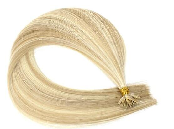 Wholesale Full Cuticles Double Drawn Russian Keratin Extensions Flat Tip Hair Extension