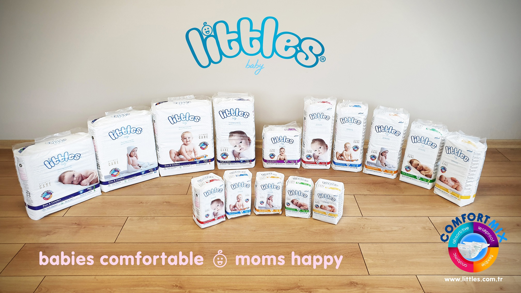 littles premium baby diapers from Turkey