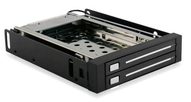 MRA258 2x2.5 HDD Enclosure Tool-Free