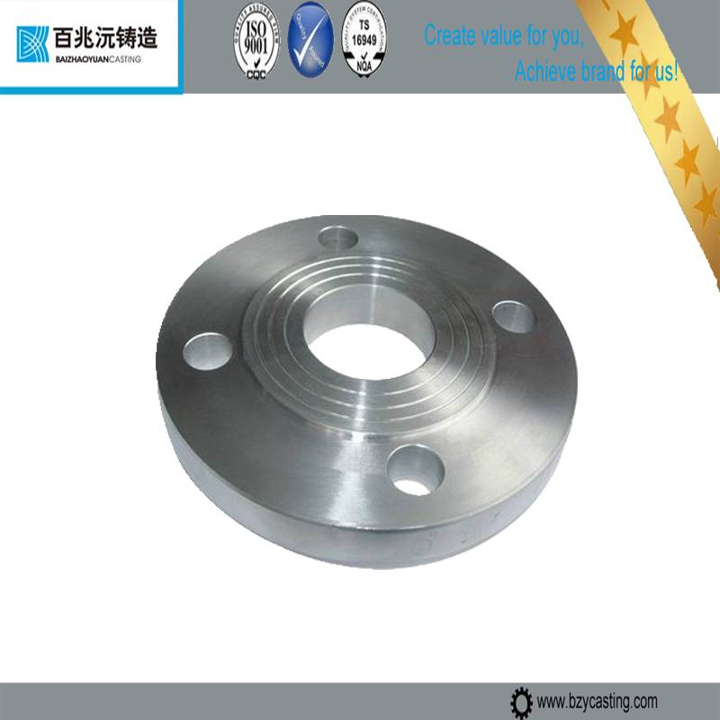 forged flange and bw cs pipe fitting