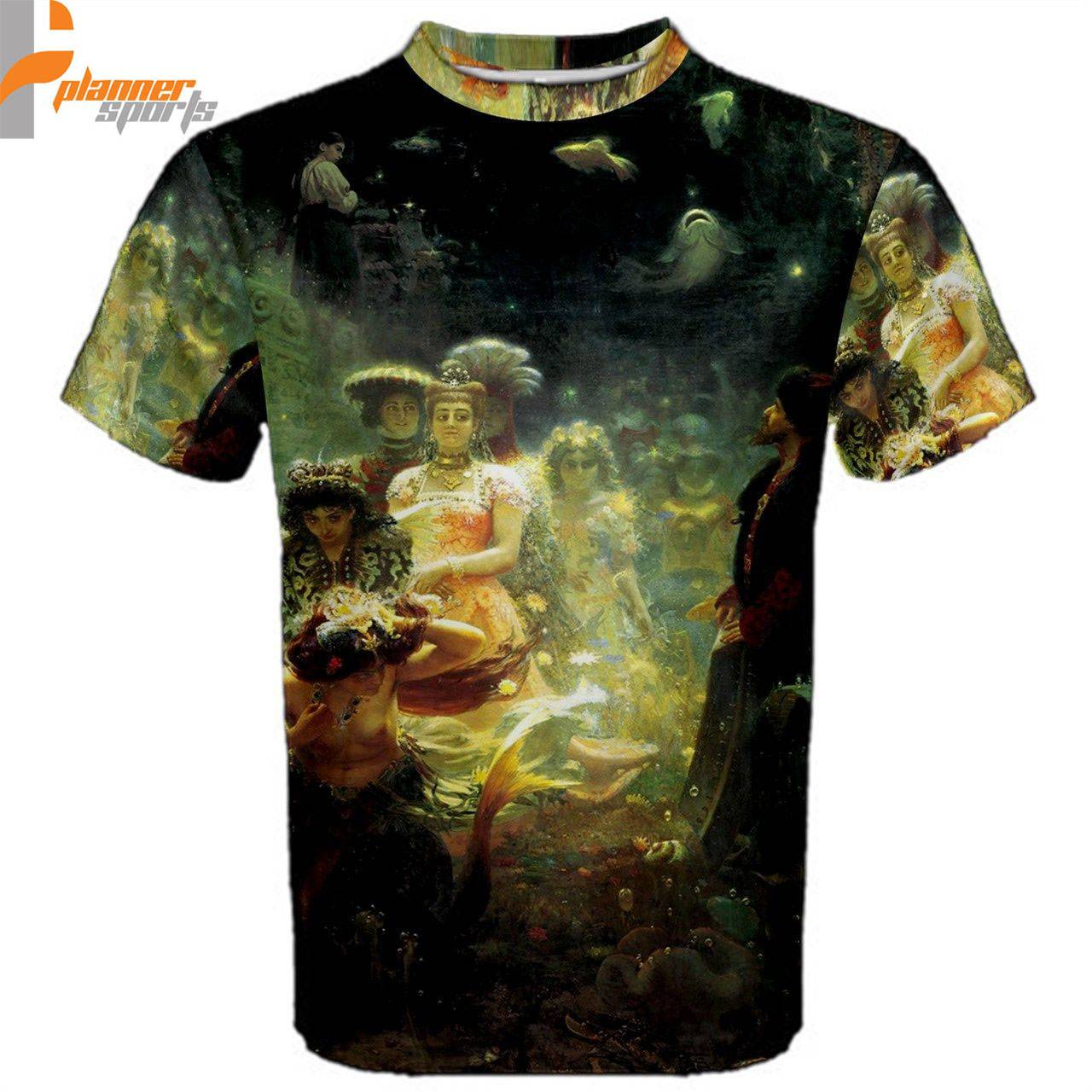 lya Repin Sadko Underwater Kingdom Sublimated Sublimation T-Shirt S,M,L,XL,2XL