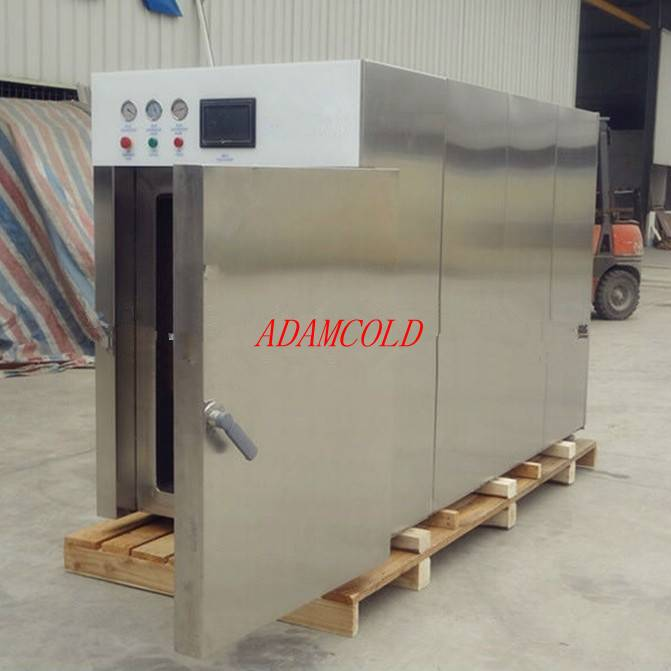 Cooked food vacuum cooler