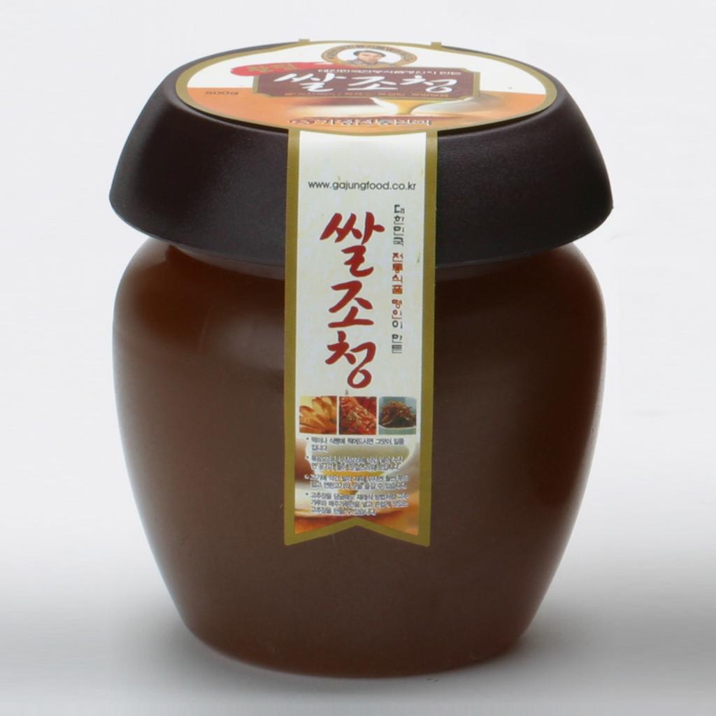 Changpyeong Rice Jocheong (Korean Traditional Grain Syrup) 500g