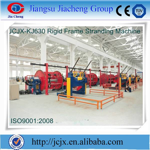 Copper Wire Stranding Machine