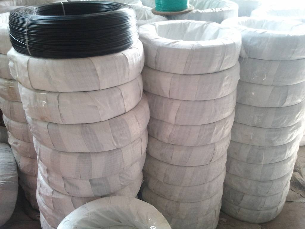 Coil Packing PVC Coated Binding Wire