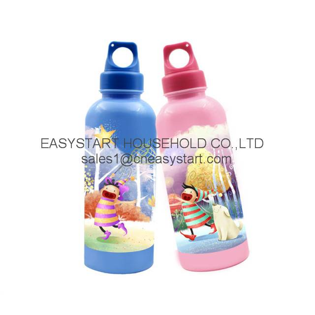 Sports water bottles with printing
