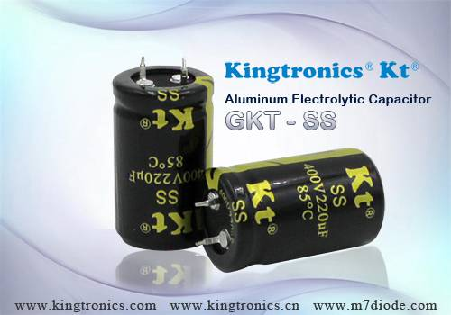 Kt Kingtronics Snap-in Type Aluminum Electrolytic Capacitors GKT-SS