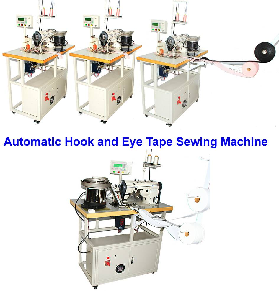 Automatic Hook and Eye Tape Sewing Machine with CE: Xd-F1 Xd-F1