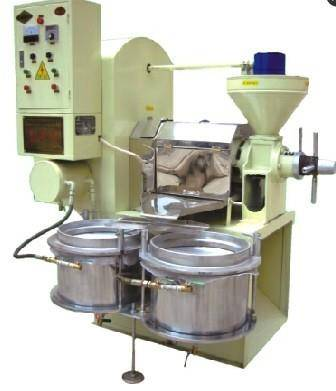 Integrated screw press machine
