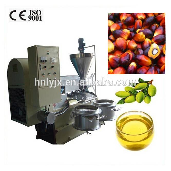 Low invest sunflower hemp seed screw palm oil press machine