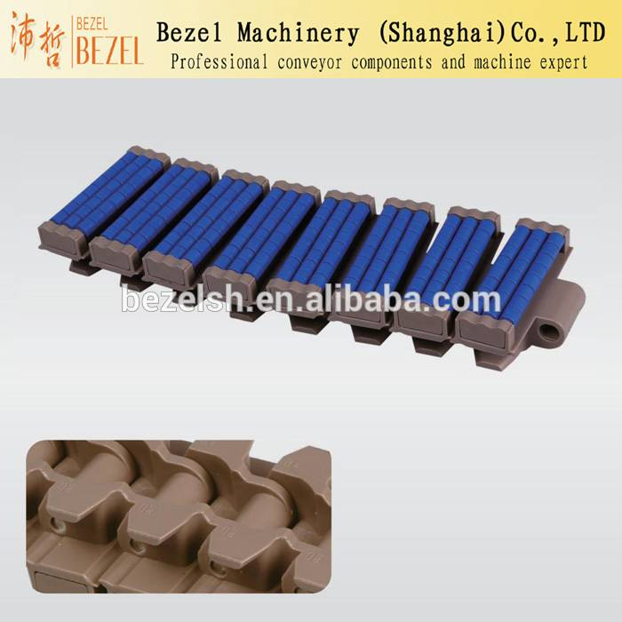 Conveyor belting chains manufacture with bead
