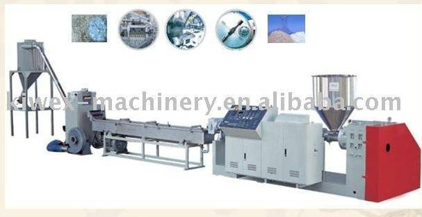 PP,PE recycling and pelletizing line