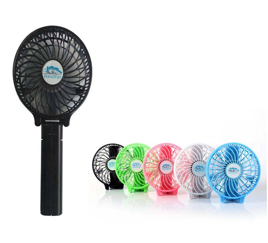Mini Handy 18650 Lithium battery rechargeable usb fan