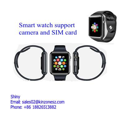 Electronic Gifts GT08 Android Wrist Watch LED Touch Screen Watch For Promotion