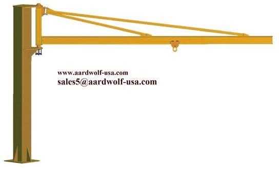 AARDWOLF FORKLIFT BOOMS -  COLUMN ARTICULATE CRANE
