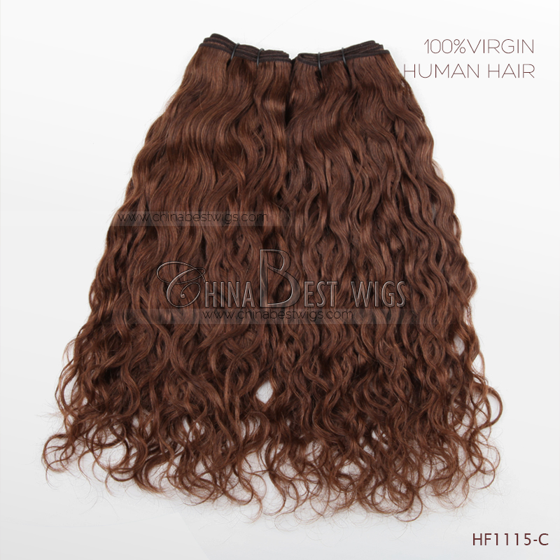 25mm curl virgin brazilian hair