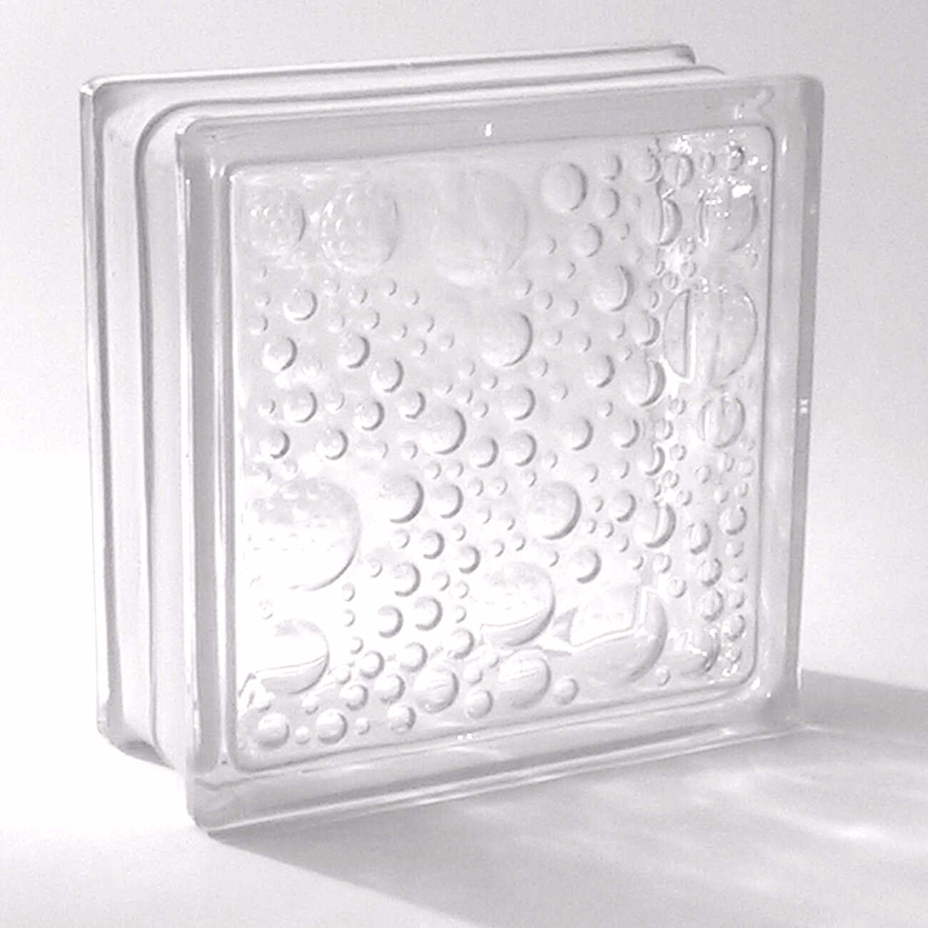 Clear Hollow Glass Block Decorative Crystal Glass Bricks