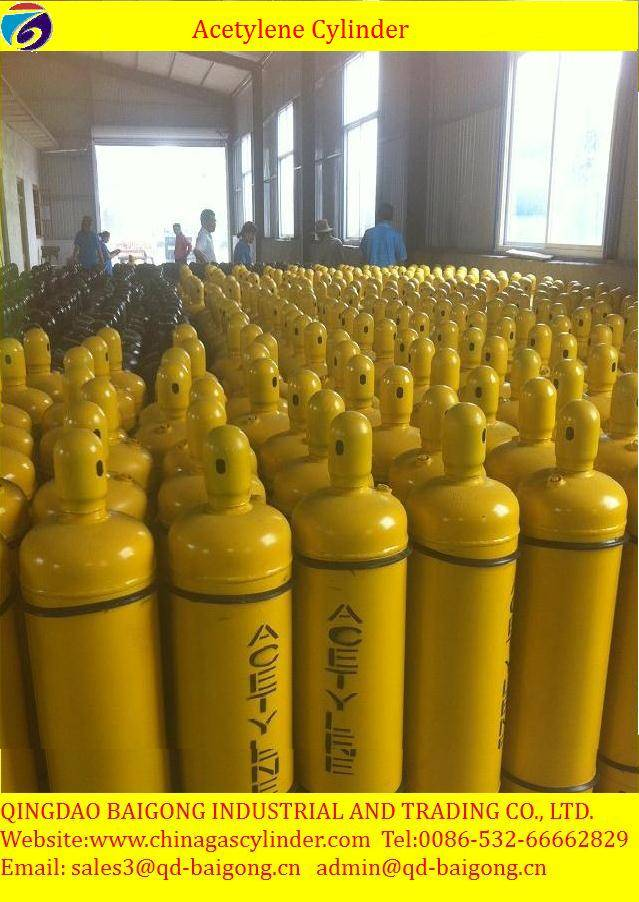 made in china acetylene gas cylinder price