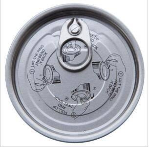 202# Aluminum Easy Open End,lids,EOE