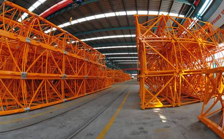 High performance tower crane spare parts