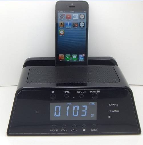 Docking Station Speaker's for iPhone5/6 and iPad