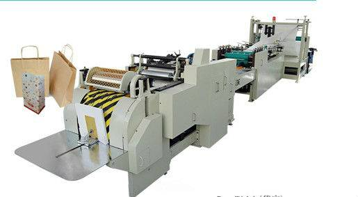 LHB-450 Fully Automatic Roll-fed Square Bottom Paper Bag Machine