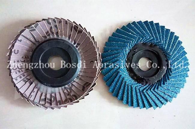 Zirconium Flexible Flap Disc Metal Backing
