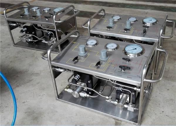 Portable Hydraulic Pressure Tester Gas Pump