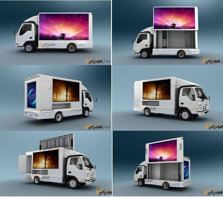 SoPower Light Digital LED Van iTruck 6