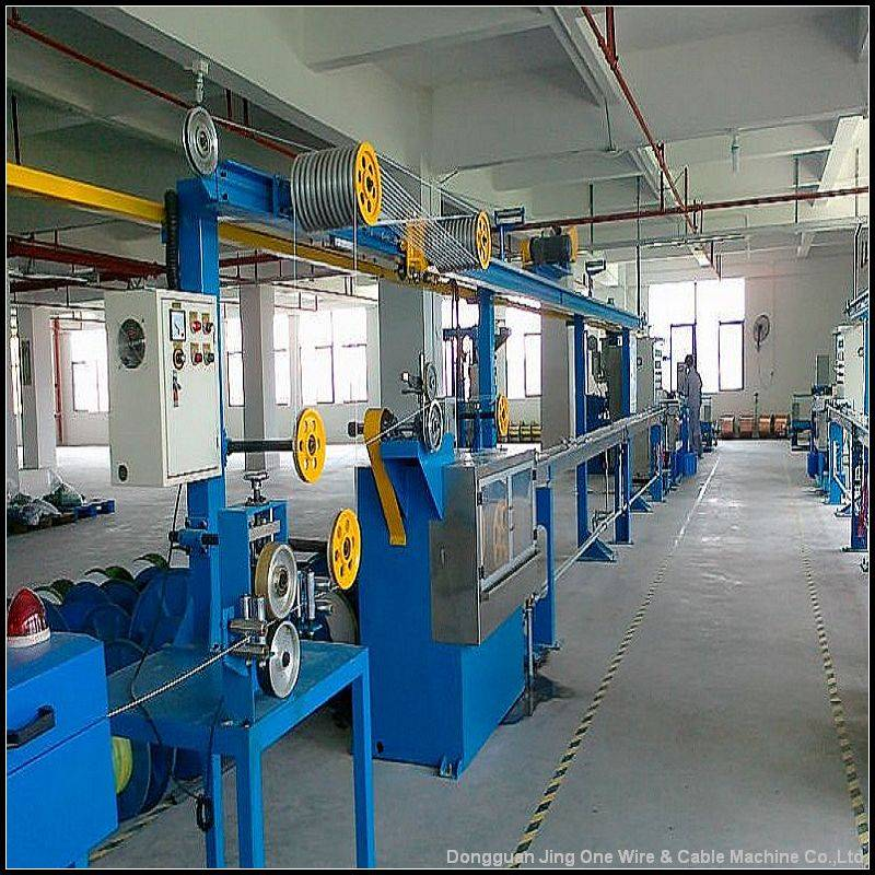 Flexible Installation Electric Cable Production Line
