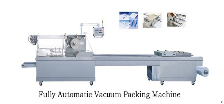 UWBD-420/520 Fully Automatic Vacuum Packing Machine