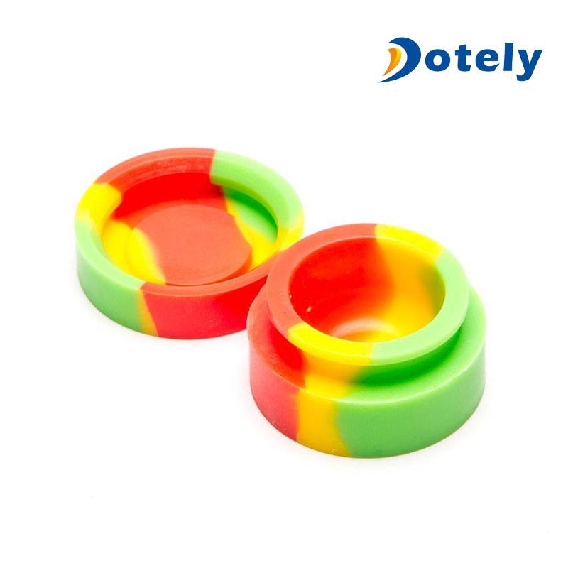 Food Grade Silicone Ball Wax DAB Container