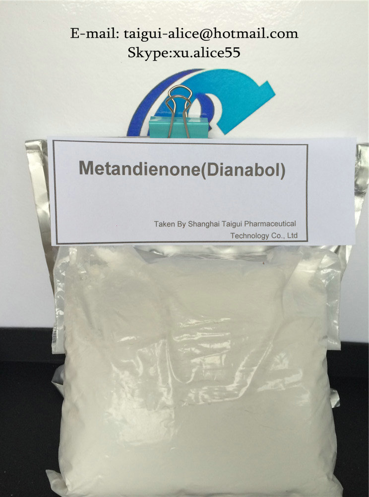 Legal Oral Anabolic Muscle Building Steroids Dianabol / Methandienone Powder CAS 72-63-9
