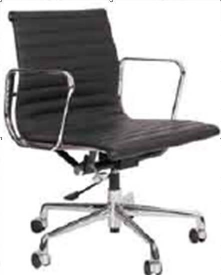 Eames aluminum group - management chair