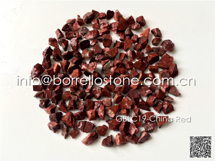 pervious floor stone chips