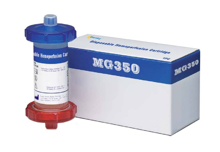 haemoperfusion cartridge