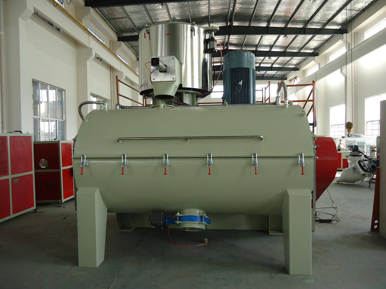 WPC PVC high speed heating cooling mixer machine