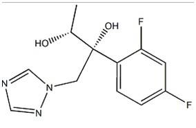 (2R,3R)- 2-(2,4-difluorophenyl)-1-(1H-1,2,4-triazol-1-yl)- 2,3- Butanediol